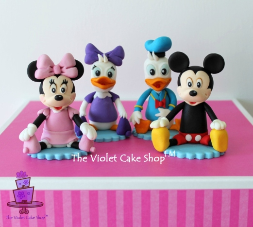 Carlington's 2nd Birthday - Minnie, Mickey, Daisy and Donald - The Gang - twmpm