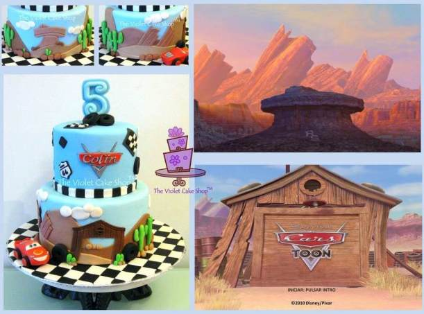 Disney Pixar Cars Inspired Cake