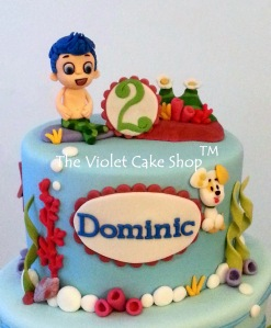 Dominic's 2nd B-Day Bubble Guppies - closeup - wm TVCS