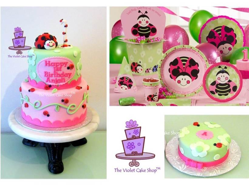 Ladybug Oh So Sweet Inspired Cake
