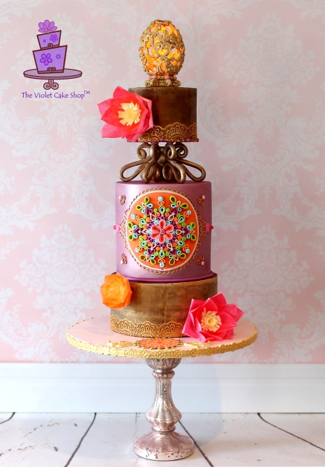 The Violet Cake Shop - Festival of Lights - brighter - watermark