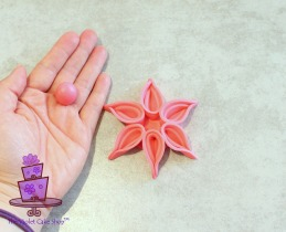Modern Deco Flower - 14a - wm