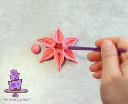 Modern Deco Flower - 14b - wm