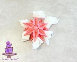 Modern Deco Flower - 18 - wm