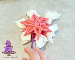 Modern Deco Flower - 19 - wm