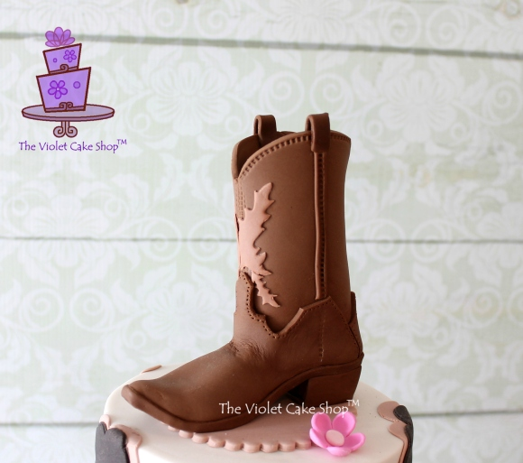 Emily's 19th Western Cowgirl Theme - boot angle - wm TVCS - twmpm