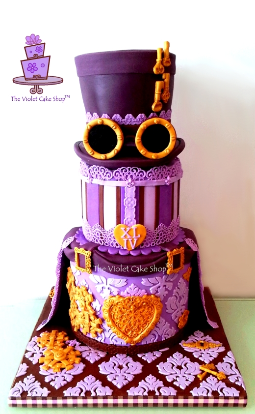 My Radiant Orchid Steampunk XLIV B-Day - watermark