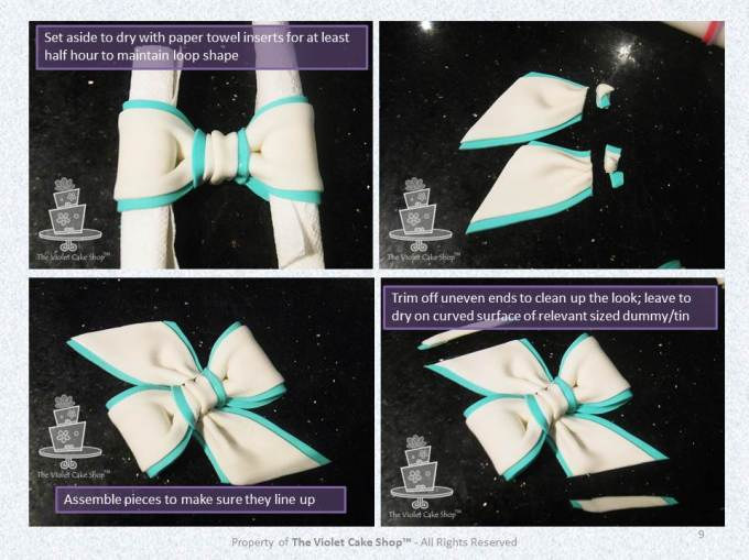 My Two-Toned Bow Tutorial - 9