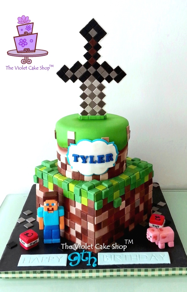 Tyler's 9th B-Day Minecraft - wm TVCS - twmpm