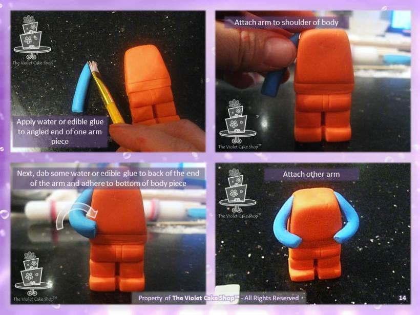 3D Lego Figure Tutorial - 14