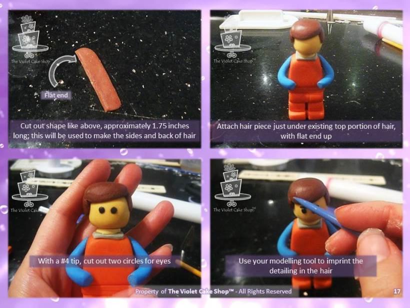 3D Lego Figure Tutorial - 17