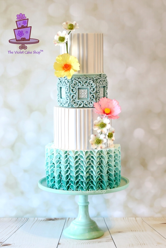 The Violet Cake Shop - CM Blue Ombre - Full - 1st - IMG_5453 - iii - cropped & watermarked