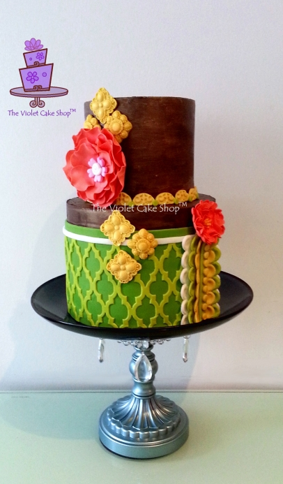 The Violet Cake Shop - Rustic Citrus Tones
