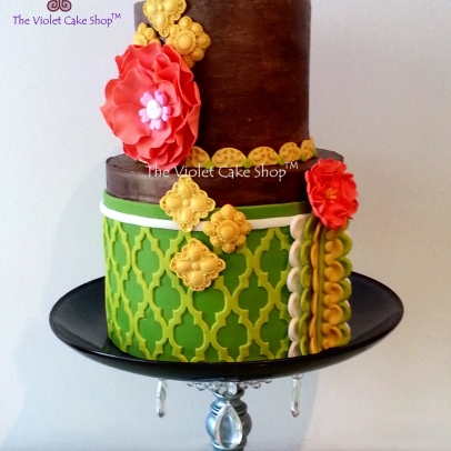 The Violet Cake Shop - Rustic Citrus Tones