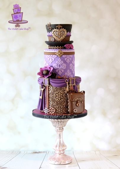 The Violet Cake Shop - Steam Cakes - 1 - IMG_8877 - ii - wm