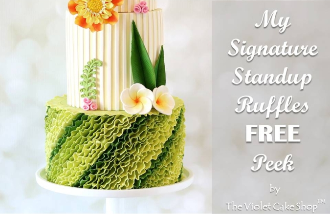 My Signature Standup Ruffles FREE Peek - cover